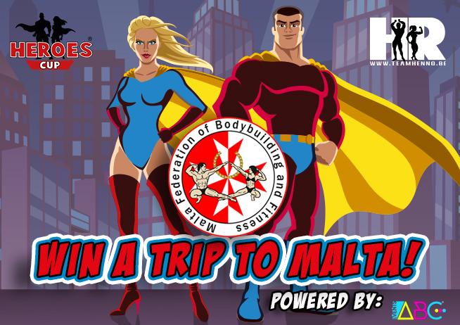 win a trip to Malta ifbb diamond cup