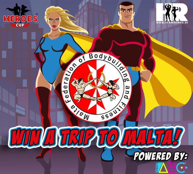 Heroes Cup win trip to IFBB Malta